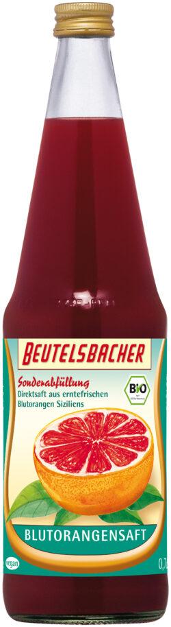 BEUTELSBACHER Bio Blutorange Direktsaft 6x0,7l