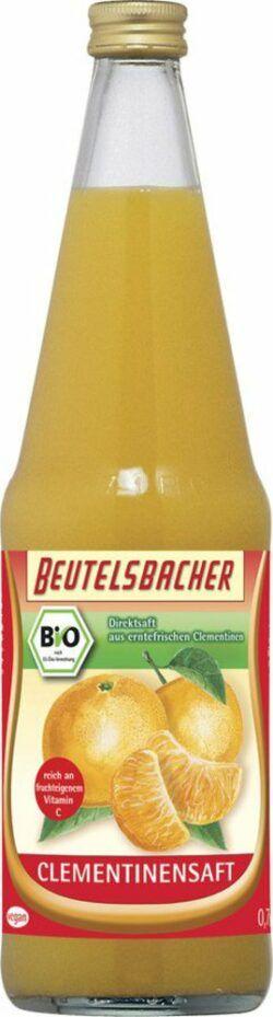 BEUTELSBACHER Bio Clementinensaft Direktsaft 6x0,7l