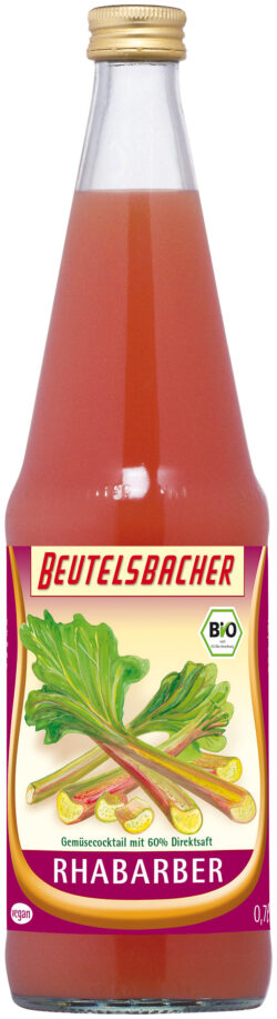 BEUTELSBACHER Bio Rhabarber 6x0,7l