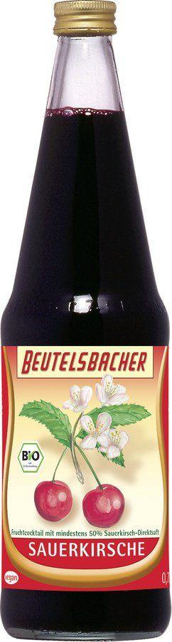 BEUTELSBACHER Bio Sauerkirschsaft 6x0,7l