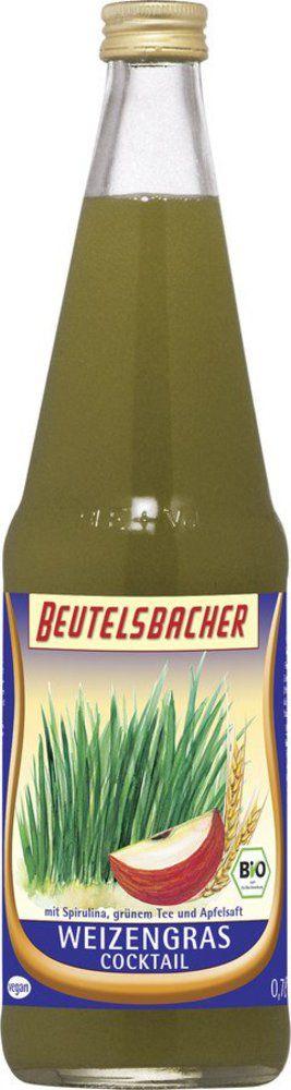 BEUTELSBACHER Bio Weizengras Cocktail 6x0,7l
