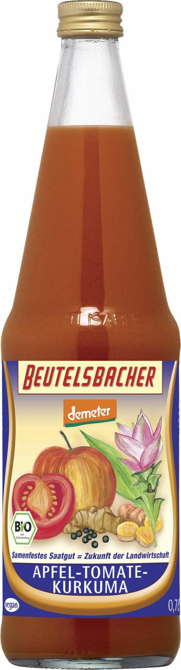BEUTELSBACHER Demeter Apfel-Tomate-Kurkuma 6x0,7l