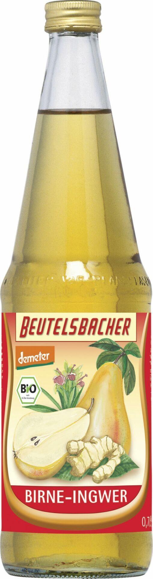 BEUTELSBACHER Demeter Birne-Ingwer Direktsaft 6x0,7l