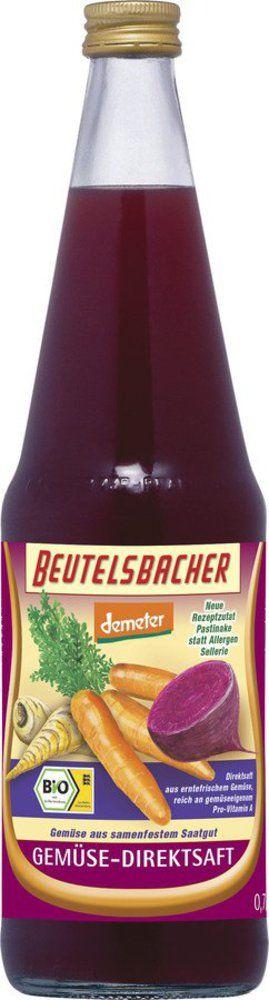 BEUTELSBACHER Demeter Gemüsesaft Direktsaft 6x0,7l