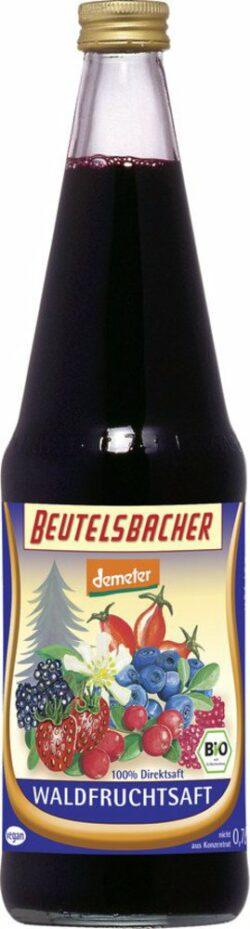 BEUTELSBACHER Demeter Mehrfruchtsaft mit Waldfrüchten Direktsaft 6x0,7l