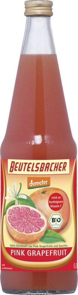 BEUTELSBACHER Demeter Pink Grapefruitsaft Direktsaft 6x0,7l