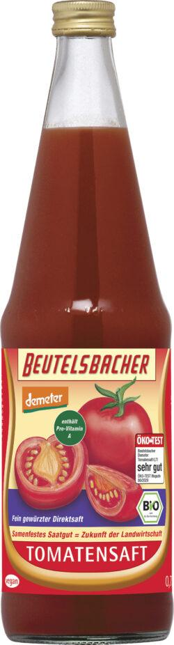 BEUTELSBACHER Demeter Tomatensaft Direktsaft 6x0,7l