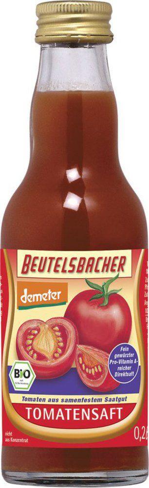 BEUTELSBACHER Demeter Tomatensaft gewürzter Direktsaft 12x0,2l