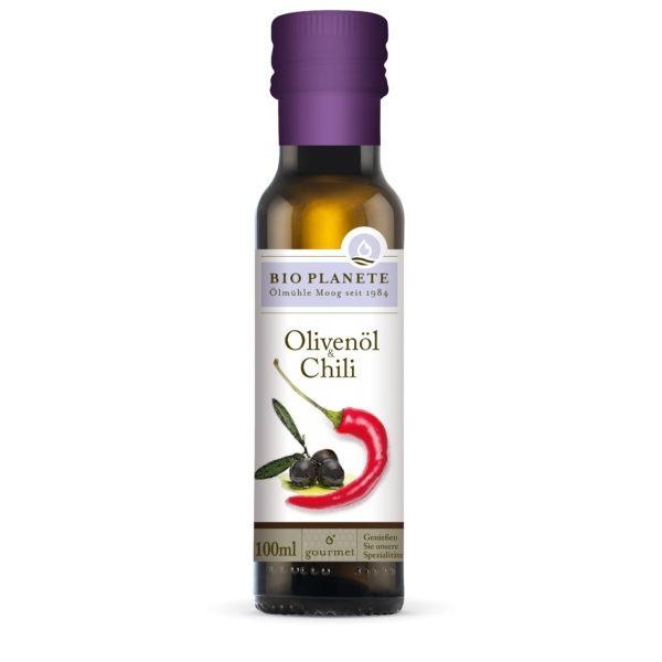BIO PLANÈTE Olivenöl & Chili 4x100ml