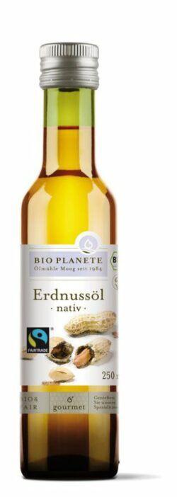 BIO PLANÈTE Erdnussöl nativ Fairtrade 6x0,25l