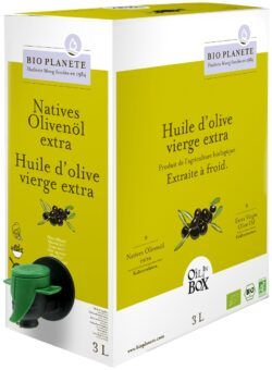 BIO PLANÈTE Olivenöl mild nativ extra OIL IN BOX 3l