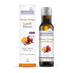BIO PLANÈTE Omega Orange Leinöl-Mixtur 0,1l