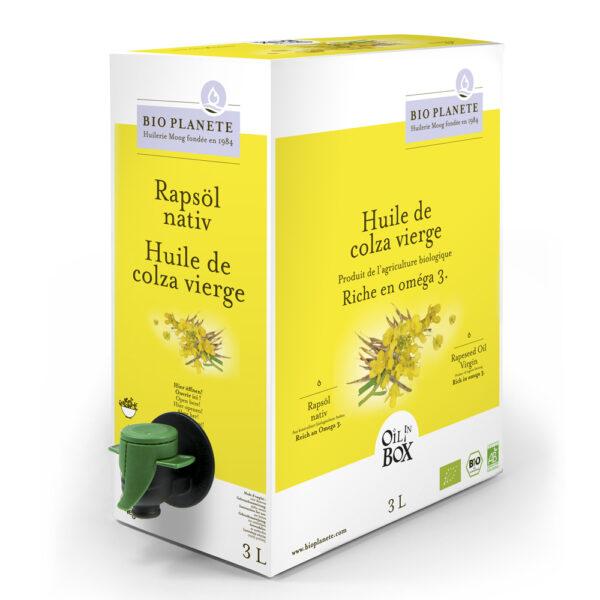 BIO PLANÈTE Rapsöl nativ OIL IN BOX 3l