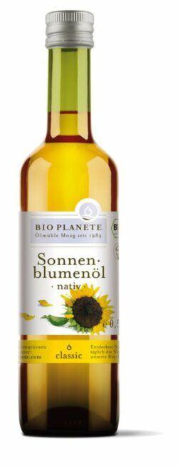 BIO PLANÈTE Sonnenblumenöl nativ 6x0,5l