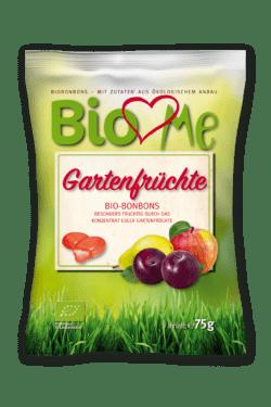BIO loves Me Gefüllte Bio-Bonbons mit Fruchtgeschmack 15x75g