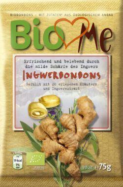 BIO loves Me Ingwer Bio-Bonbons 15x75g