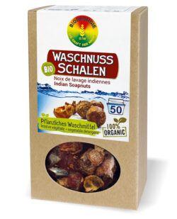 BIOENERGIE WASCHNUSS-SCHALEN bio, 100% pflanzliches Waschmittel, palmölfrei, vegan 6x250g