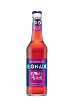 BIONADE Himbeer-Pflaume Mehrweg Kasten 0,330 12x0,33l