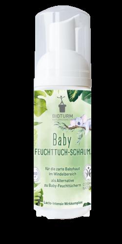 BIOTURM Baby Feuchttuch-Schaum 50ml