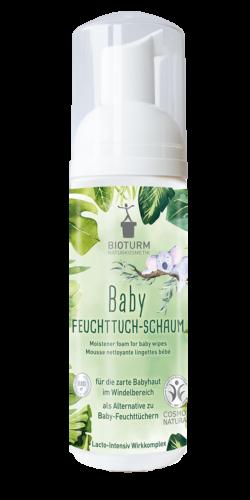 BIOTURM Baby Feuchttuch-Schaum 150ml