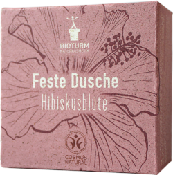 BIOTURM Feste Dusche Hisbiskusblüte 100g