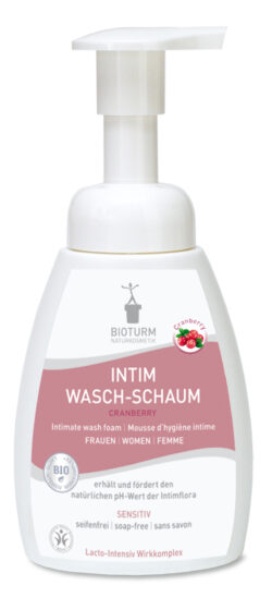 BIOTURM Intim Wasch-Schaum Cranberry 250ml