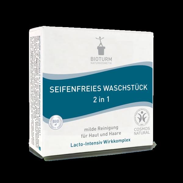 BIOTURM Seifenfreies Waschstück 2 in 1 100g