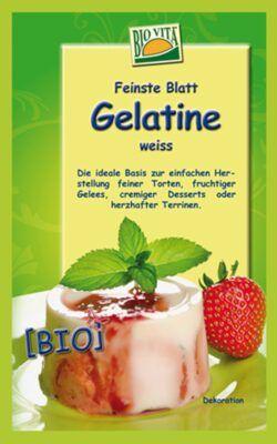 BIOVITA BIO Blatt-Gelantine weiß 20x10g