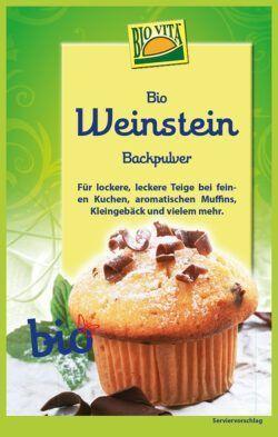 BIOVITA BIO Weinstein-Backpulver 12x25,5g