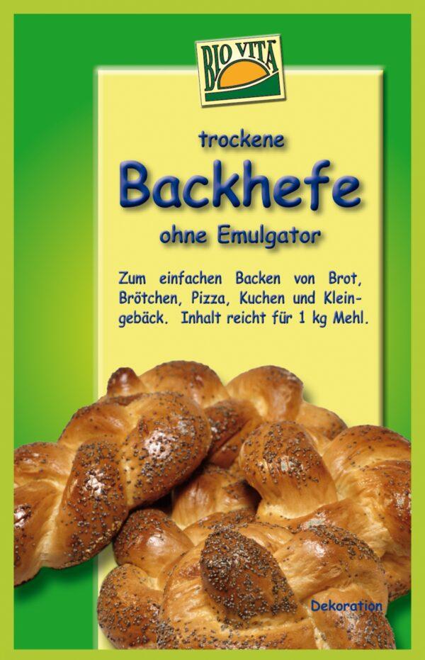 BIOVITA Backhefe ohne Emulgatoren 35x20g