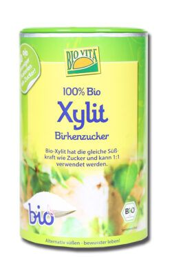 BIOVITA Bio Xylit Birkenzucker 6x600g