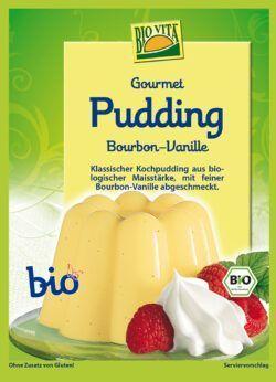 BIOVITA Gourmet Pudding Bourbon-Vanille bio 15x38g