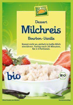 BIOVITA Milchreis Bourbon-Vanille bio 10x115g