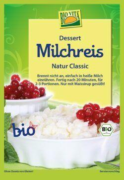 BIOVITA Milchreis Natur Classic bio 10x115g