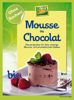 BIOVITA Mousse au Chocolat bio 10x77g
