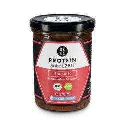 BONE BROX BROX Protein-Mahlzeit Bio-Chili mit Kidneybohnen & Rauchsalz 6x390g