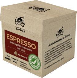 Barista vom Berg Biokaffeekapsel aus Holz Espresso 8x108g