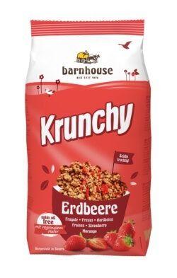 Barnhouse  Krunchy Erdbeer 375g
