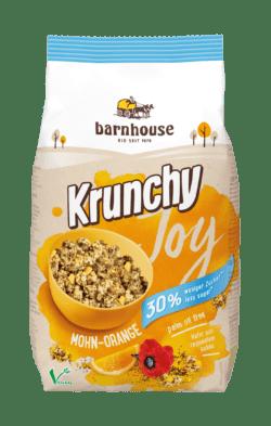 Barnhouse  Krunchy Joy Mohn-Orange 6x375g