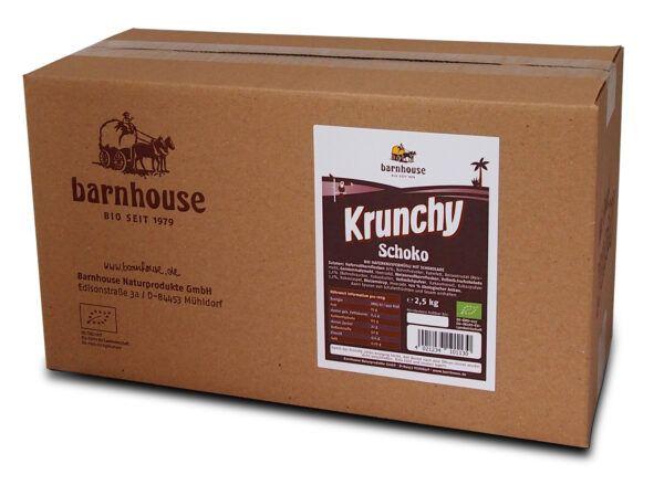 Barnhouse  Krunchy Schoko 2,5kg nur für Unverpacktstationen 2500g
