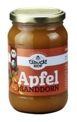 Bauckhof Apfel-Sanddornmus gesüßt Bio 12x360g