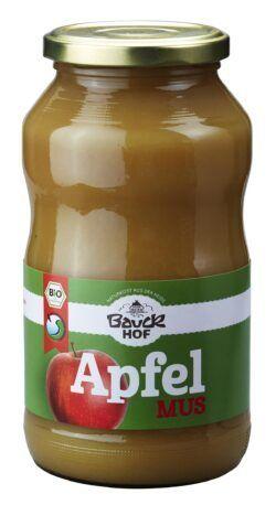 Bauckhof Apfelmus gesüßt Bio 700g