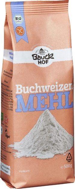 Bauckhof Buchweizenmehl Vollkorn glutenfrei Bio 6x500g