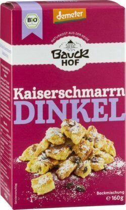 Bauckhof Dinkel Kaiserschmarrn Demeter 6x160g