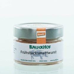 Bauckhof Frühstücks-Mettwurst 6x100g