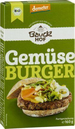 Bauckhof Gemüseburger Demeter 6x160g