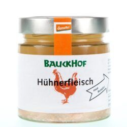 Bauckhof Hühnerfleisch 6x380g