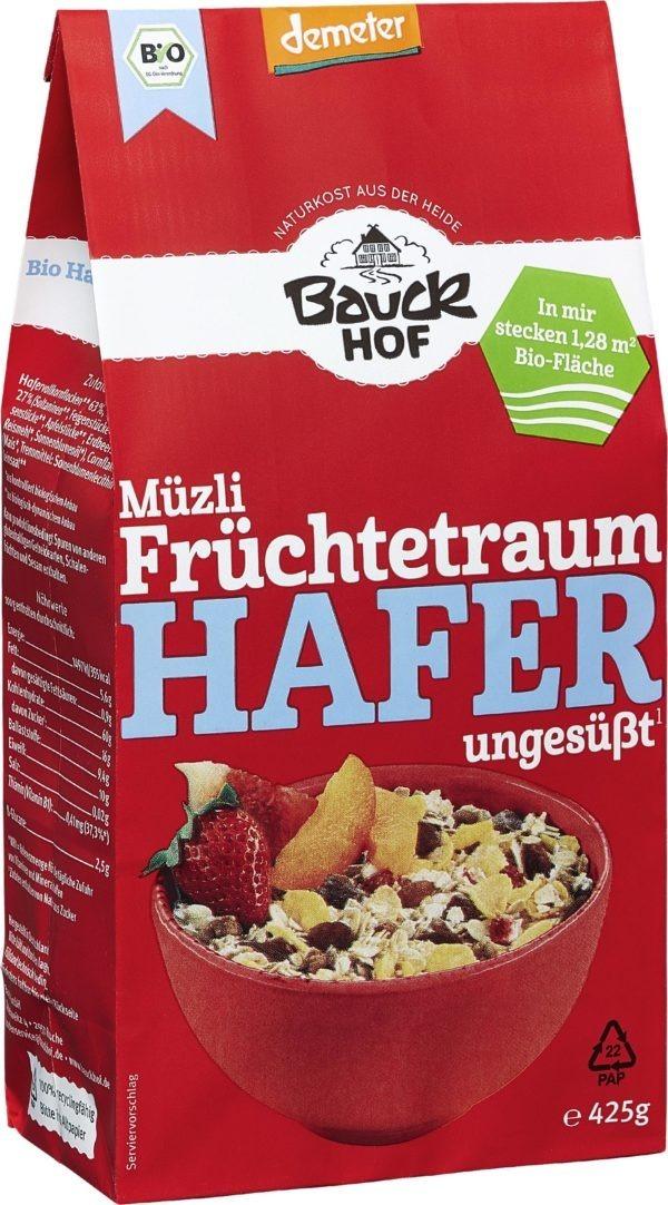 Bauckhof Hafer Müzli Früchtetraum Demeter 8x425g