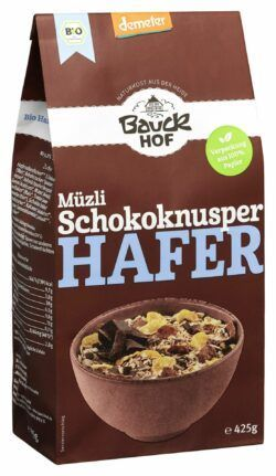 Bauckhof Hafer Müzli Schokoknusper Demeter 8x425g