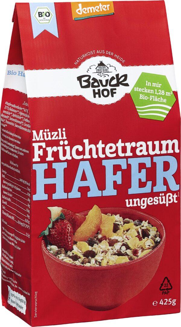 Bauckhof Hafer Müzli Früchtetraum Demeter 425g